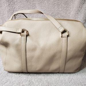 A New Day Mochaccino Soft Crossbody Duffle Handbag